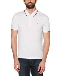 Original Penguin - Contrast Tipping Polo - Lyst