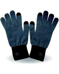Original Penguin - Glacier Smart Glove - Lyst