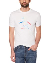 Original Penguin - Pete Embroidered Tee - Lyst