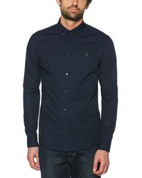 Original Penguin - Camo Embroidered Shirt - Lyst