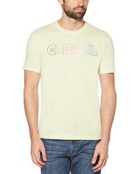 Original Penguin - Rainbow Ombre Original Tee - Lyst