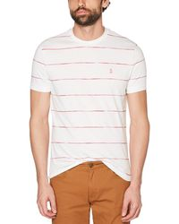 Original Penguin - Space Dye Stripe Tee - Lyst