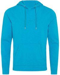 Orlebar Brown - Karson Jersey Kapuzen-sweatshirt Mit Klassischer Passform In Azure - Lyst