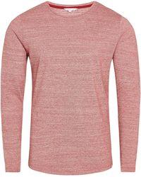 Orlebar Brown - Ob-t T-shirt Mit Rundhalsausschnitt Und Körperbetonter Passform In Merlot - Lyst