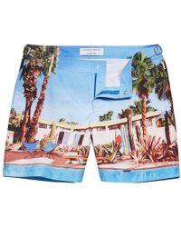Orlebar Brown - Bulldog Pool House Mid-length Swim Shorts - Lyst
