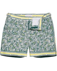 Orlebar Brown - Bulldog Rainforest Mid-Length Swim Shorts - Lyst