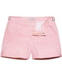 Orlebar Brown - Setter Camellia Themis Print Shorter-length Swim Shorts - Lyst