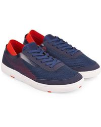 Orlebar Brown - Larson Navy/red Shoe You Can Swim In - Lyst