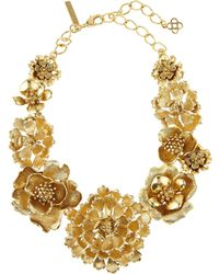 Oscar de la Renta - Blooming Bold Flower Necklace - Lyst