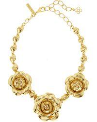 Oscar de la Renta - Gardenia Necklace - Lyst