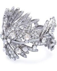 Oscar de la Renta - Tropical Palm Bracelet - Lyst
