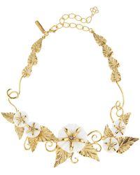 Oscar de la Renta - Morning Glory Necklace - Lyst
