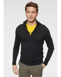 Tommy Hilfiger - Pullover »COTTON SILK ZIP THROUGH« - Lyst