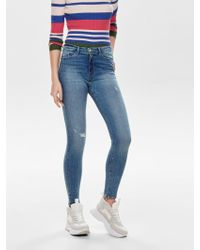 ONLY - Paola Highwaist Skinny Fit Jeans - Lyst