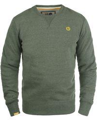 Solid - Sweatshirt »Benn« Sweatpullover mit weicher Fleece-Innenseite - Lyst