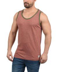 Redefined Rebel - Tanktop »Marlow« ärmelloses Shirt mit farblich abgesetzten Saumabschlüssen - Lyst