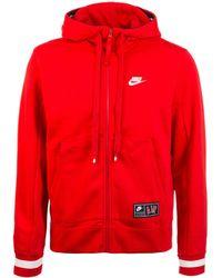 Nike - Kapuzensweatjacke »Air Fleece« - Lyst
