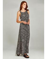Apricot Maxikleid » Tile Print Maxi Dress« im Ethno-Look