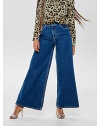 ONLY - Super weite Alisia HW Flared Jeans - Lyst