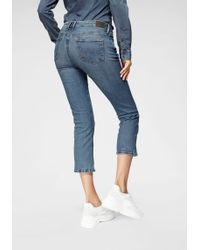 Pepe Jeans - Bootcut-Jeans »PICCADILLY 7/8« in 7/8-Form mit WISER WASH® - Lyst