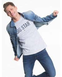 Big Star - T-Shirt »BRUNO_TS_SS« - Lyst