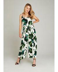 Apricot Jumpsuit »Banana Leaf Print Jumpsuit« im Culotte-Look