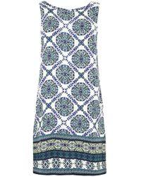 Apricot Druckkleid »Positano Tile Print Shift Dress« im Mustermix