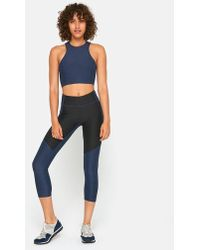 Outdoor Voices - 3/4 Two-tone Legging - Lyst