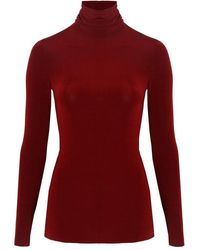 Related - Valera Top In Red Red, Deep Red - Lyst