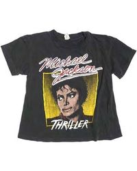 911dd63a Forever 21 Michael Jackson Muscle Tee in Black - Lyst