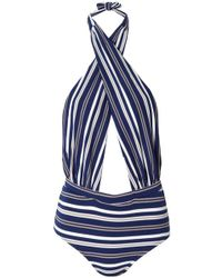 6 Shore Road By Pooja - Cabana One Piece Seaside Stripes - Lyst