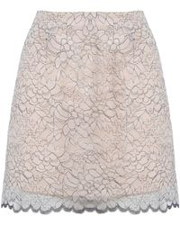 Related - Meadow Skirt In White Lace - Lyst