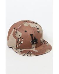 KTZ - Camouflage Dodgers Fitted Hat - Lyst