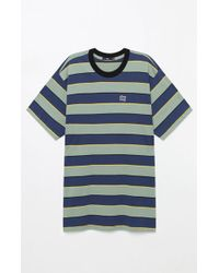Obey - Burn Classic Stripe T-shirt - Lyst