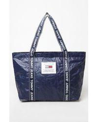 871cabd0eb Lyst - Tommy Hilfiger Easy Nylon Framed Black Wash Bag in Black for Men