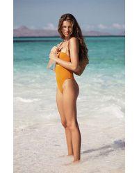 d728f9f70f Debbie Katz Shanti Mirror Cotton Gauze Tunic Swim Cover Up in Black - Lyst