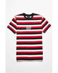 Huf - Marka Red & Black T-shirt - Lyst