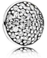 Pandora | Dazzling Droplet Petite Locket Charm | Lyst