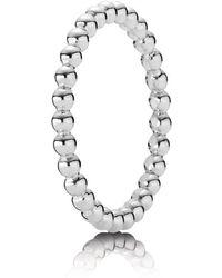 PANDORA - Bubble Stacking Ring - Lyst
