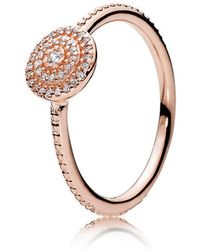 PANDORA - Radiant Elegance Ring - Lyst