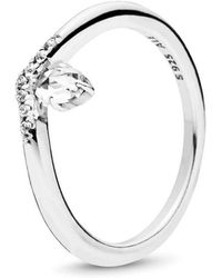 PANDORA - Classic Wish Ring - Lyst