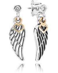 PANDORA - Love & Guidance Stiletto Earrings - Lyst