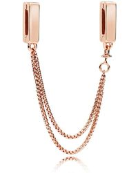 PANDORA - Reflexions Floating Safety Chain - Lyst