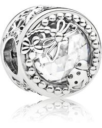 PANDORA - Enchanted Nature Charm - Lyst