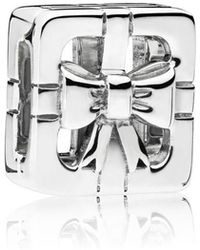 PANDORA - Reflexions Sweet Gift Box Clip Charm - Lyst