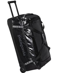 Patagonia - Black Hole Wheeled Duffel Bag - Lyst