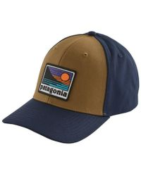 87e3e31450 Lyst - Patagonia Geologers Roger That Hat in Blue for Men