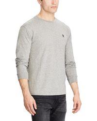 Polo Ralph Lauren - Custom Fit Long Sleeve Jersey - Lyst