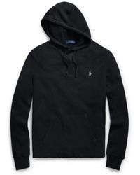 Polo Ralph Lauren - Waffle Pullover Hoodie - Lyst