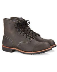 Red Wing - Iron Ranger 6-inch Boots – Mens - Lyst